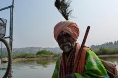 Hampi, Inde, homme