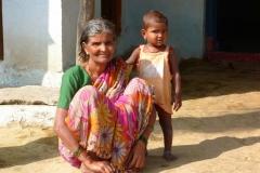 Hampi, Inde, famille