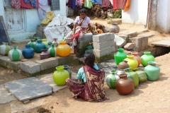 Hampi, Inde, femme