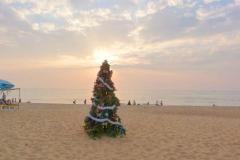 Panjim, Inde, Noël