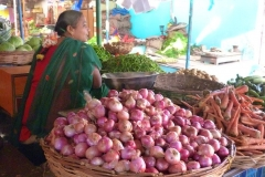Pattadakal Aihole, Inde, légume