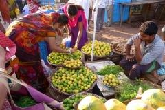 Pattadakal Aihole, Inde, vendeur