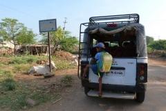 Pattadakal Aihole, Inde, école
