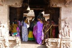 Pattadakal Aihole, Inde, femme