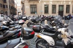 Rome, Italie, scooter, vespa
