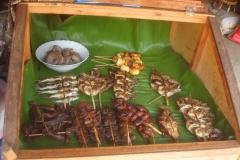 Laos, brochette