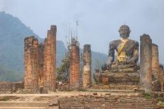 Laos, temple