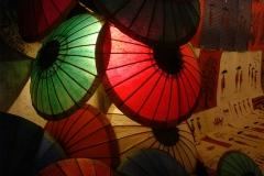 Laos, ombrelle