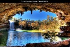 Bassin, Hamilton, Texas, USA