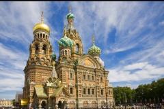 Cathédrale, Saint-Sauveur, Saint Petersbourg, Russie