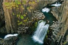 Chutes, Litlanesfoss, Uppheraosvegur, Islande