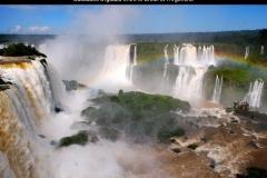 Chutes, Iguazu, Brésil, Argentine