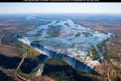 Chutes, Victoria, Zimbabwe, Zambie, Afrique