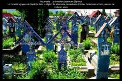 Cimetière, Sapanta, Roumanie