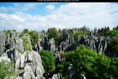 Forêt de pierres, Kunming, Chine