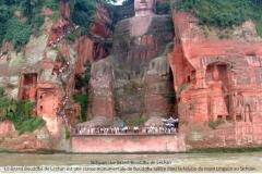 Grand Bouddha, Lashan Lingyun, Sichuan, Chine