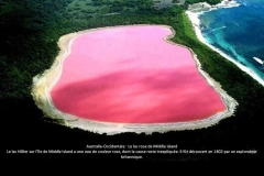 Lac Rose, Hillier, Middle island, Australie