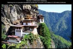 Monastère, Taktshang, Bhoutan, Asie