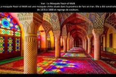 Mosquée Nasir Ol Molk, Iran