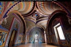 Salle du paon, Château de Sammezzano, Toscane, Italie