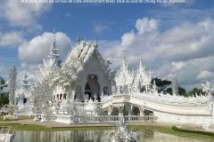 Temple blanc, Wat Rong Khun, Chiang Rai, Thaïlande
