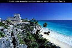 Temple, Maya, Tulum, Riviera Maya, Mexique