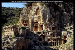 Tombeaux de Myre, Turquie