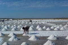 Madagascar, sel de mer, récolte
