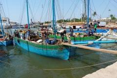 Madagascar, port, pêche
