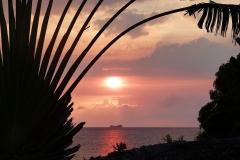 Madagascar, coucher de soleil