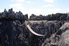 Madagascar, Tsingy, pont