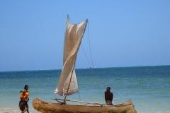 Madagascar, Nosy Be, pêcheur