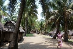 Madagascar, femme, village