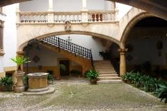 Palma de Majorque, Iles Baléares, Espagne, patio