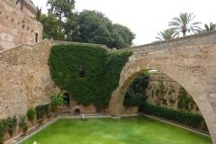 Palma de Majorque, Iles Baléares, Espagne, Palais royal de l'Almudaina