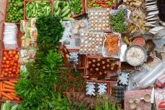 Malaisie, cuisine, vendeur de rue, marché