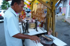 Malaisie, cuisine, vendeur de rue