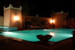 Maroc, Grand sud, riad, piscine
