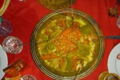 Maroc, Grand sud, couscous