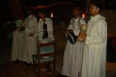 Maroc, Grand sud, musiciens