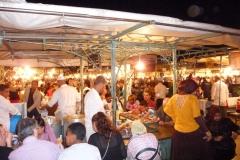Maroc, Marrakech, Place Jeema El Fnaa