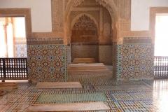 Maroc, Marrakech, Tombeaux Saadiens, Rue de La Kasbah