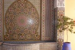 Maroc, Marrakech, mosaïque