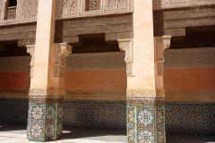 Maroc, Marrakech, Médersa Ben-Youssef