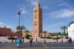 Maroc, Marrakech, Koutoubia