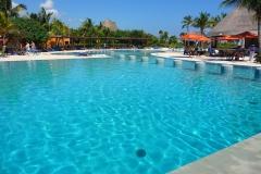 Mexique, Playa Del Carmen, Playa Maroma hôtel piscine