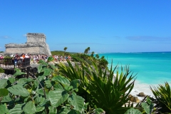 Mexique, Tulum, la plage