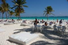 Mexique, Tulum, la plage, paradisio beach