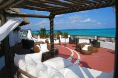 Mexique, Cancun, vue sur la mer