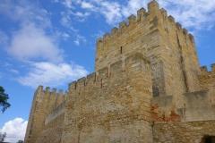 Castelo de São Jorge, Lisbonne, Portugal